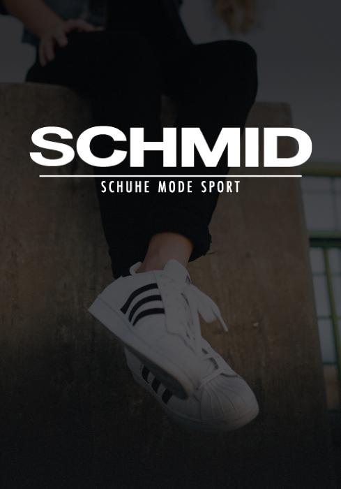 SCHMID - Schuhe, Mode & Sport ist neuer Kunde der Digitalagentur codeblick aus Augsburg.