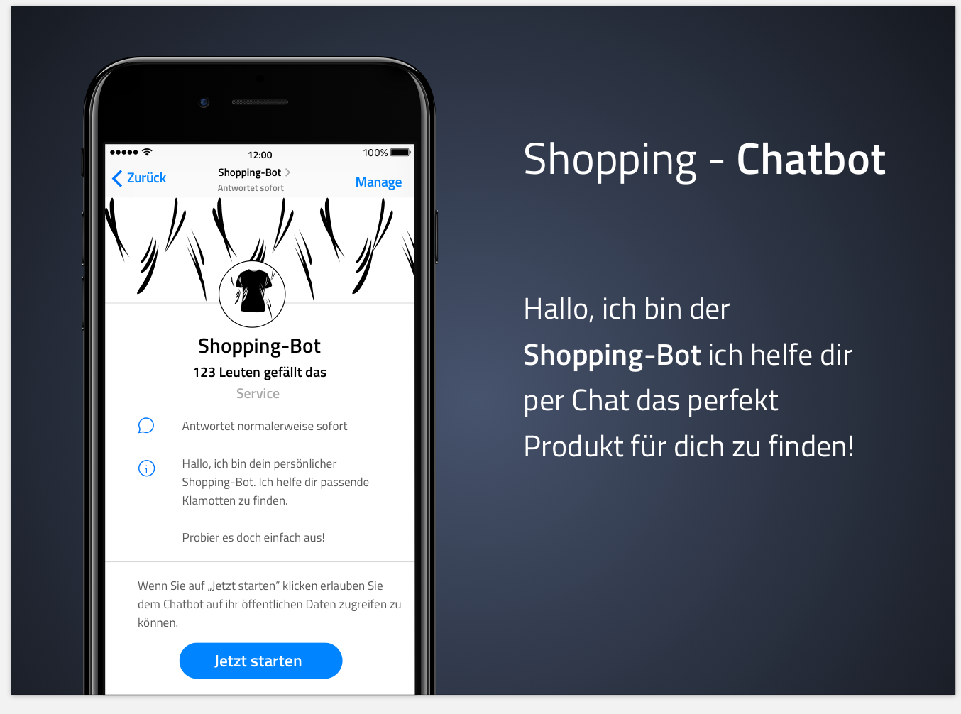 Shopping-Chatbot im Customer Service