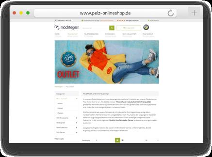 Der pelz Onlineshop wurde von der Shopware Agentur codeblick mit dem Shopsystem Shopware erstellt als auch betreut.